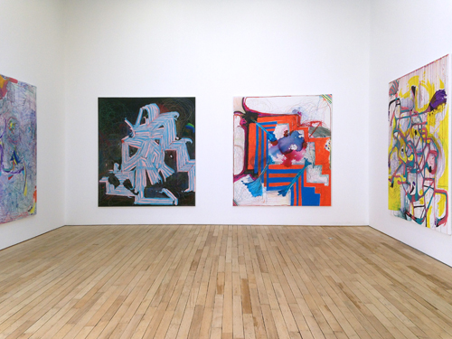 in Pictures for Joanne Greenbaum at Rachel Uffner Gallery. Image for