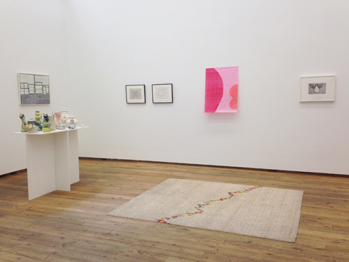in Pictures for 'Cancel All Our Vows' at DODGEgallery. Image for (L-R) Patrick Purcell, Thomas Nozkowski, Allyson Strafella, Judy Linn