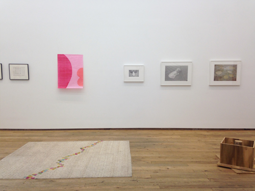 in Pictures for 'Cancel All Our Vows' at DODGEgallery. Image for (L-R) Thomas Nozkowski, Allyson Strafella, Judy Linn, Taylor Davis