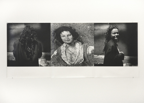 in Pictures for Moyra Davey at Murray Guy. Image for Moyra Davey, Untitled (from the Diverse Secrecies series), 1984/86, Gelatin silver print,  20 x 47 1/4 in, Unique. Courtesy of Murray Guy, New York.