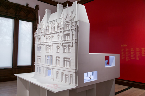 in Pictures for 'Other Primary Structures' at The Jewish Museum. Image for Scale model of 1966 Primary Structures exhibition at The Jewish Museum, New York, in Other Primary Structures.  Photo: Will Raggazino/SocialShutterbug.com