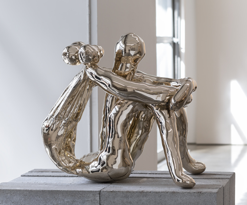 in Pictures for Sarah Lucas at Gladstone Gallery. Image for Sarah Lucas, Dacre, 2013, Cast bronze, 24 1/2 x 19 1/2 x 26 inches (62.2 x 49.5 x 66 cm), Photo: David Regen, Copyright Sarah Lucas, Courtesy Gladstone Gallery, New York and Brussels