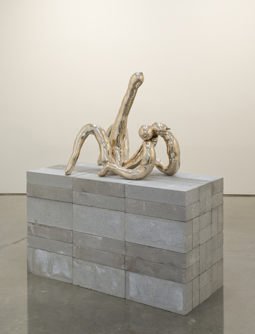 in Pictures for Sarah Lucas at Gladstone Gallery. Image for  Sarah Lucas, Patrick More, 2013, Cast bronze, 30 x 22 x 33 inches (76.2 x 55.9 x 83.8 cm), Photo: David Regen, Copyright Sarah Lucas, Courtesy Gladstone Gallery, New York and Brussels