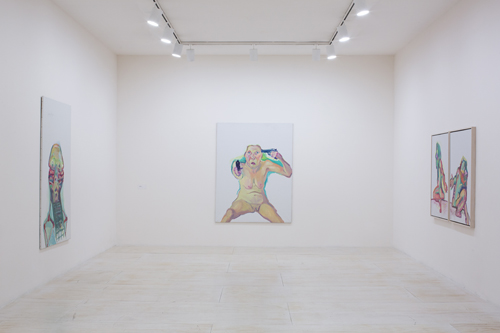 in Pictures for Maria Lassnig at MoMA PS1. Image for Installation view of Maria Lassnig at MoMA PS1, 2014. © 2014 MoMA PS1; Photo Matthew Septimus. Courtesy MoMA PS1.