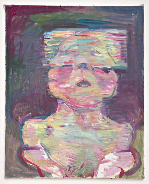 in Pictures for Maria Lassnig at MoMA PS1. Image for Maria Lassnig, Transparentes Selbstporträt (Transparent Self-Portrait), 1987, Oil on canvas, 125 x 100 cm. Courtesy the artist.