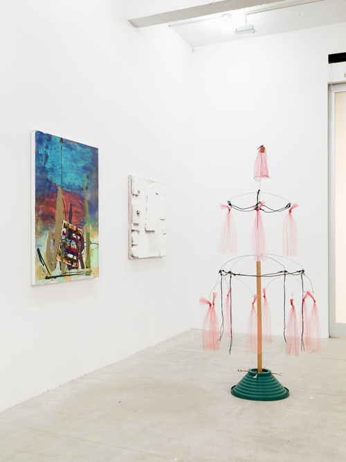 in Pictures for 'Poor Working Conditions' at Martos Gallery. Image for Installation View of 'Poor Working Conditions' at Martos Gallery, with works by Rochelle Feinstein and B. Wurtz. Courtesy of the artists, On Stellar Rays Gallery, and Metro Pictures Gallery. Photo by Charles Benton.