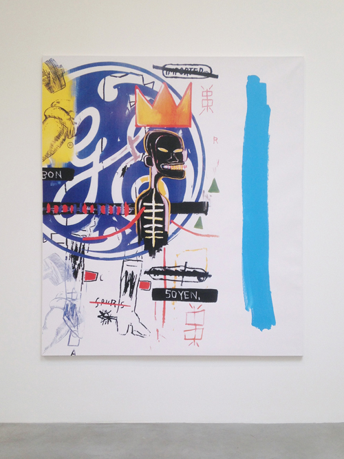 in Pictures for Michel Majerus at Matthew Marks Gallery. Image for