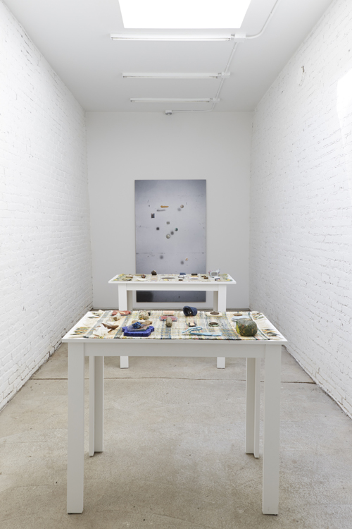 in Pictures for Corin Hewitt at Laurel Gitlen. Image for Installation view of Corin Hewitt: 'The Third Station' at Laurel Gitlen, 2014. Courtesy of Laurel Gitlen  New York.