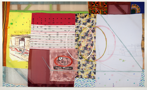 in Pictures for Tameka Norris at Lombard Freid Gallery. Image for Tameka Norris, 12 Times Table, 2014, acrylic and oil on fabric. Courtesy of the artist and Lombard Freid Gallery, New York.