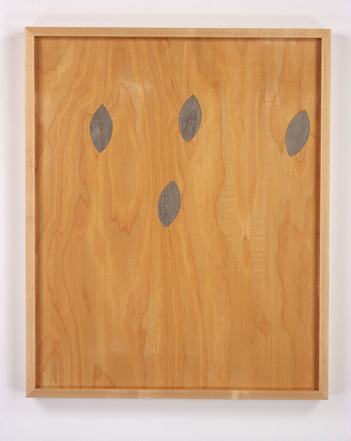 in Pictures for 'Loveless' at Greene Naftali Gallery. Image for Sherrie Levine, Lead Knot, 2005, Acrylic on Plywood, 31 x 25 inches (78.7 x 63.5 cm). Courtesy of the artist and Greene Naftali, New York.