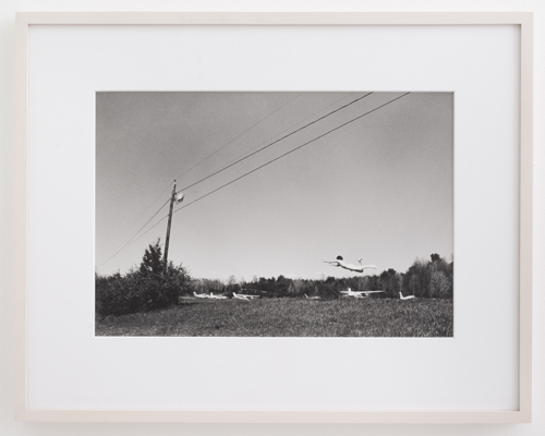 in Pictures for 'Particular Pictures' at The Suzanne Geiss Company. Image for Daniel Gordon, Untitled, 2001, Gelatin silver print 11 x 14 inches (27.9 x 35.6 cm). Photo Adam Reich. Courtesy The Suzanne Geiss Company.