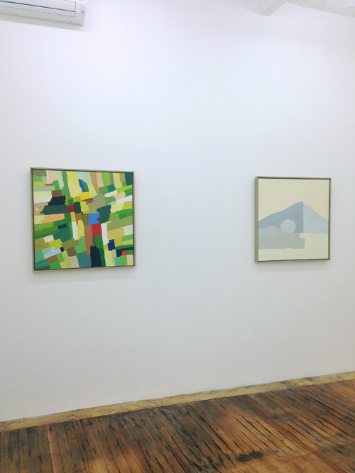 Month In Pictures Etel Adnan at Callicoon Fine Arts. Image for Installation View: Etel Adnan at Callicoon Fine Arts, 2014.