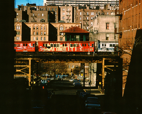 in Pictures for City as Canvas at The Museum of the City of New York. Image for Redbird (Stay High 149) photograph by Jon Naar, 1973. © Jon Naar