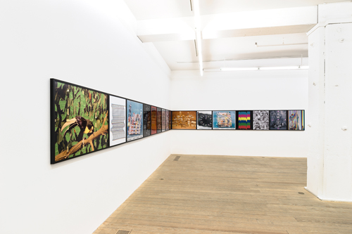in Pictures for Sara Cwynar at Foxy Production. Image for Installation view Sara Cwynar: 'Flat Death' at Foxy Production, 2014. Photo by Mark Woods. Courtesy of the artist and Foxy Production, New York.