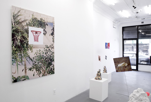 in Pictures for Sadie Laska and Sara Magenheimer at Cleopatra's. Image for Installation view of 'Which arbitrary thing are you' at Cleopatra's, with work by Sadie Laska and Sara Magenheimer. Courtesy of the Artists and Cleopatra's.