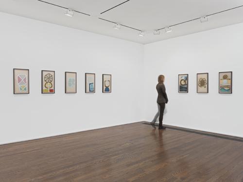 in Pictures for Mira Schendel at Hauser & Wirth. Image for Installation view, 'Mira Schendel', Hauser & Wirth New York, 69th Street, 2014. Courtesy Mira Schendel Estate and Hauser & Wirth. Photo: Genevieve Hanson