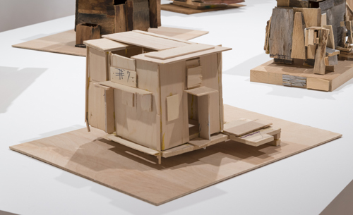 in Pictures for 'When the Stars Begin to Fall: Imagination and the American South' at The Studio Museum in Harlem. Image for Beverly Buchanan, #7 House, 2010, Wood and glue, 12 3⁄4 × 17 × 10 in. Collection of Jane Bridges. Photo: Adam Reich