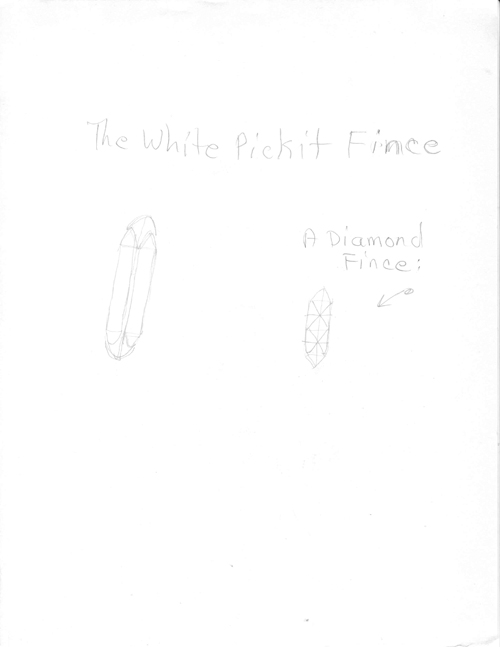 in Pictures for 'When the Stars Begin to Fall: Imagination and the American South' at The Studio Museum in Harlem. Image for Patricia Satterwhite, Untitled (The White Pickit Fince), c. 2008, Graphite on paper, 11 x 8 1⁄2 in. Courtesy Jacolby and Patricia Satterwhite