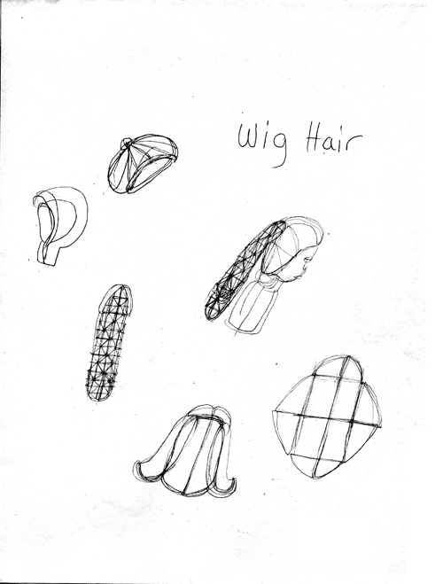 in Pictures for 'When the Stars Begin to Fall: Imagination and the American South' at The Studio Museum in Harlem. Image for Patricia Satterwhite, Untitled (Wig Hair), c. 2008, Graphite on paper, 11 x 8 1⁄2 in. Courtesy Jacolby and Patricia Satterwhite