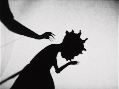 in Pictures for 'When the Stars Begin to Fall: Imagination and the American South' at The Studio Museum in Harlem. Image for Kara Walker, 8 Possible Beginnings, or the Creation of African- America; a Moving Picture by Kara E. Walker (video still), 2005, Video, black and white, sound, TRT 00:15:57. © 2005 Kara Walker. Courtesy of Sikkema Jenkins & Co., New York