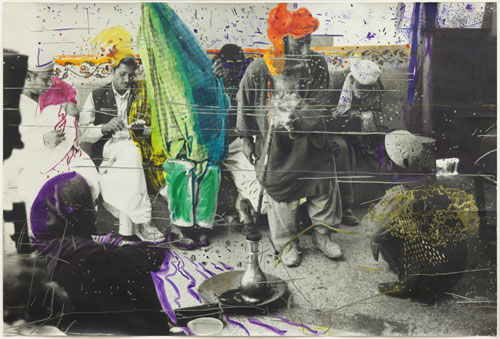 in Pictures for Sigmar Polke at MoMA. Image for Sigmar Polke, German, 1941–2010, Untitled (Quetta, Pakistan), 1974/1978, Gelatin silver print with applied color, 22 3/8 × 33 13/16″ (56.9 × 85.9 cm). Glenstone. Photo: Alex Jamison © 2014 Estate of Sigmar Polke/ Artists Rights Society (ARS), New York / VG Bild-Kunst, Bonn