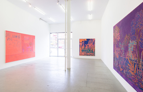 in Pictures for John McAllister at James Fuentes. Image for Installation view of John McAllister: 'tides must exalt' at James Fuentes, 2014. Courtesy of the artist and James Fuentes.