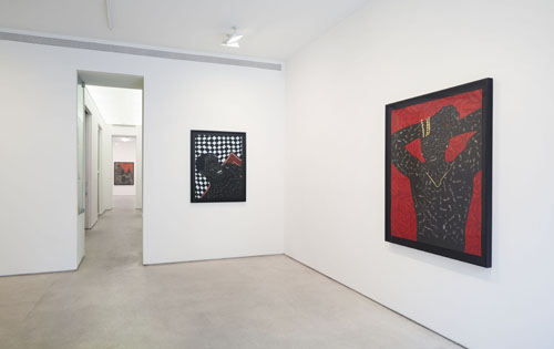 Month In Pictures Toyin Odutola at Jack Shainman Gallery. Image for Installation view of Toyin Odutola: 'Like the Sea' at Jack Shainman Gallery, 2014. © Toyin Odutola. Courtesy of the artist and Jack Shainman Gallery, New York.