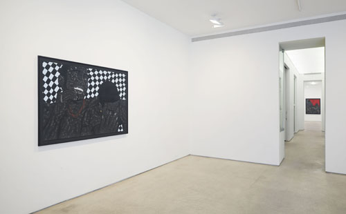 in Pictures for Toyin Odutola at Jack Shainman Gallery. Image for Installation view of Toyin Odutola: 'Like the Sea' at Jack Shainman Gallery, 2014. © Toyin Odutola. Courtesy of the artist and Jack Shainman Gallery, New York.