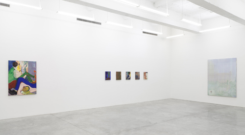 in Pictures for Sanya Kantarovsky at Casey Kaplan. Image for Installation view of Sanya Kantarovsky: 'Allergies' at Casey Kaplan, 2014. Photo: Dawn Blackman. Courtesy of the artist and Casey Kaplan, New York.