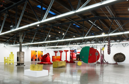 in Pictures for Sterling Ruby at Hauser & Wirth. Image for Installation view of Sterling Ruby: 'SUNRISE SUNSET' at Hauser & Wirth, 2014. © Sterling Ruby. Courtesy the artist and Hauser & Wirth.