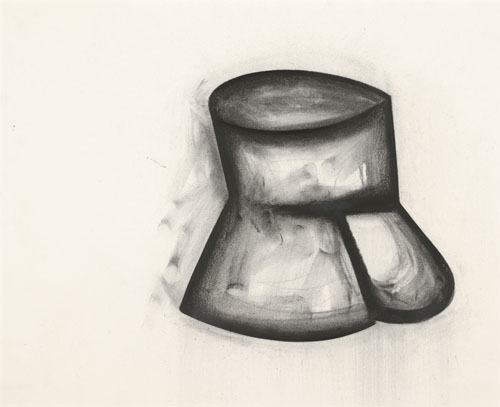 in Pictures for Jay DeFeo at Mitchell-Innes & Nash. Image for Jay DeFeo, Pink Cup Fights Back (for R.N.), 1989, Charcoal on paper, 16 1/8 by 20 1/8 in. (41 by 51.1 cm). Courtesy of Mitchell-Innes & Nash, NY. All images © 2014 The Jay DeFeo Trust/Artists Rights Society (ARS), New York.