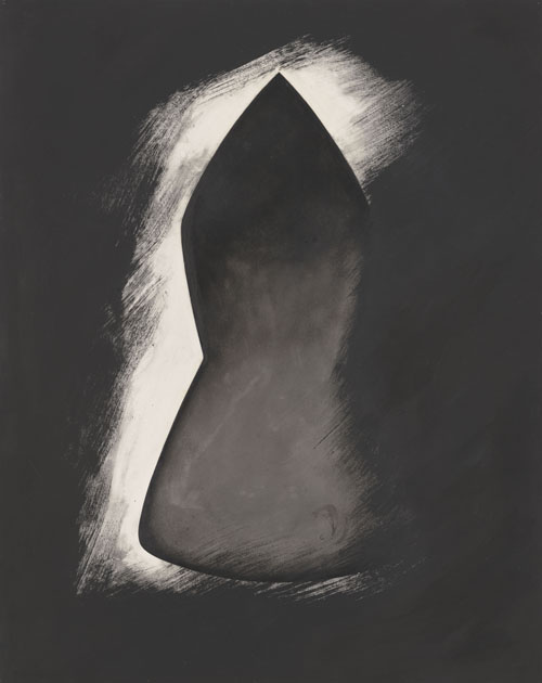 in Pictures for Jay DeFeo at Mitchell-Innes & Nash. Image for Jay DeFeo, Seven Pillars of Wisdom No. 6, 1989, Charcoal and acrylic on paper, 29 by 23 in. (73.7 by 58.4 cm). Courtesy of Mitchell-Innes & Nash, NY. All images © 2014 The Jay DeFeo Trust/Artists Rights Society (ARS), New York.