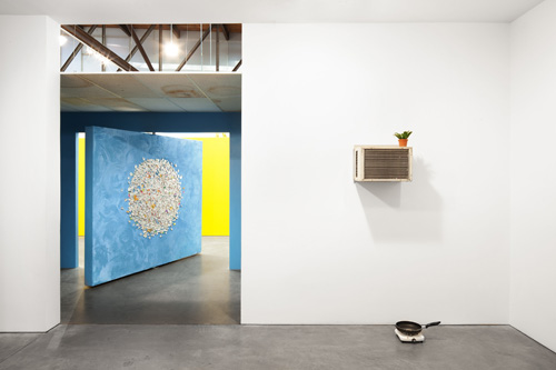in Pictures for Mika Rottenberg at Andrea Rosen Gallery. Image for Installation view of Mika Rottenberg: Bowls Balls Souls Holes. Photograph by Lance Brewer, Courtesy Andrea Rosen Gallery, New York.