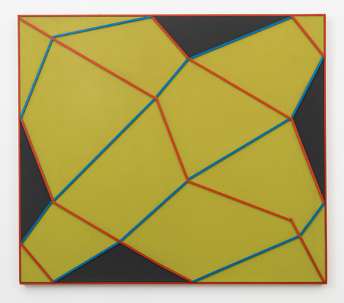 in Pictures for Regina Bogat at Zürcher Studio. Image for Regina Bogat, Mackay, 1967, acrylic, wood on canvas, 39 x 45 in (100 x 114,5 cm). Courtesy of Zürcher Studio. Photo: Adam Reich.