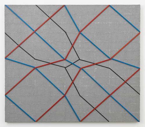 in Pictures for Regina Bogat at Zürcher Studio. Image for Regina Bogat, Revere, 1967, Sculp-metal, acrylic, wood on canvas, 39 x 45 in (100 x 114,5 cm). Courtesy of Zürcher Studio. Photo: Adam Reich.