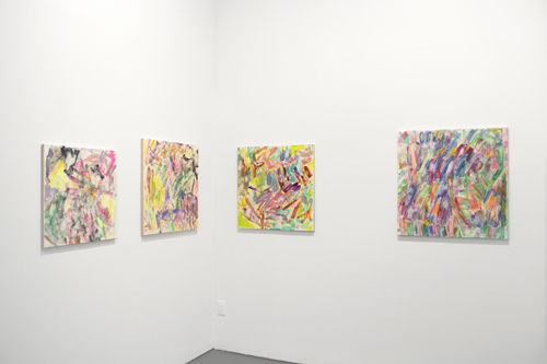in Pictures for Ray Hamilton, Daniel Heidkamp, Patrick Berran, Jennifer Nichols, and Primary Information / ALBUM at White Columns. Image for Installation view of Jennifer Nichols at White Columns, 2014. Image courtesy of White Columns.