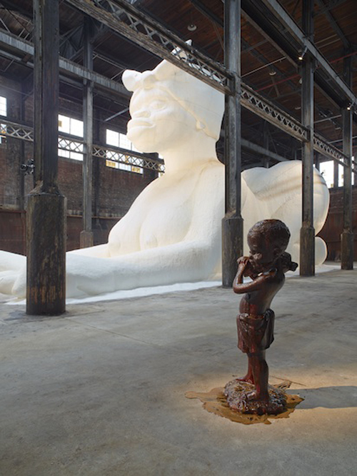 in Pictures for Kara Walker: A Subtlety at The Domino Sugar Factory. Image for Kara Walker, A Subtlety, 2014. Photography by Jason Wyche. Courtesy Creative Time, 2014.