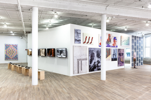 in Pictures for 'Living with Pop. A Reproduction of Capitalist Realism' at Artists Space. Image for Installation view from Living with Pop. A Reproduction of Capitalist Realism, Artists Space, 2014. Photo by Daniel Pérez.