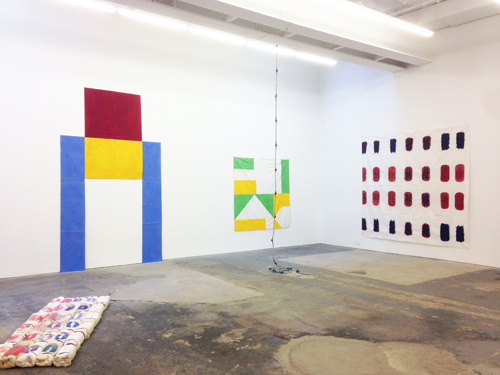 in Pictures for 'Supports/Surfaces' at CANADA. Image for Installation view of 'Supports/Surfaces' at CANADA, 2014.