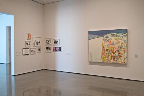 in Pictures for Amy Sillman at CCS Bard / Hessel Museum of Art. Image for Installation view from Amy Sillman: one lump or two, Center for Curatorial Studies, Hessel Museum of Art, Bard College, Annandale-on-Hudson, NY, June 28 – September 21, 2014. Photo: Chris Kendall 2014. Courtesy of the artist and Sikkema Jenkins & Co.