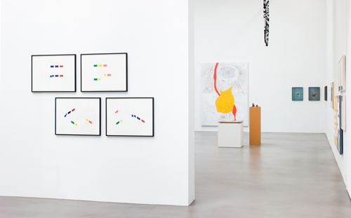 in Pictures for 'A Machinery for Living' at Petzel Gallery. Image for Installation view of 'A Machinery for Living,' organized by Walead Beshty at Petzel Gallery, New York, July 2 – August 8, 2014. Courtesy Petzel Gallery, New York.