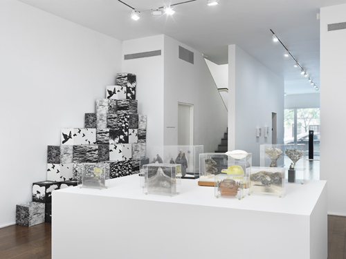 in Pictures for 'The Photographic Object, 1970' at Hauser & Wirth. Image for Installation view, 'The Photographic Object, 1970', Hauser & Wirth New York, 69th Street 2014 © Carl Cheng © Michael De Courcy © Ted Victoria. Courtesy the artists, Cherry and Martin and Hauser & Wirth. Photo: Genevieve Hanson.