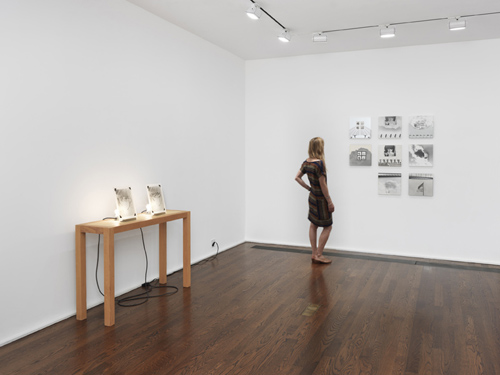 in Pictures for 'The Photographic Object, 1970' at Hauser & Wirth. Image for Installation view, 'The Photographic Object, 1970', Hauser & Wirth New York, 69th Street 2014 © Richard Jackson © Darryl Curran. Courtesy the artists, Cherry and Martin and Hauser & Wirth. Photo: Genevieve Hanson.
