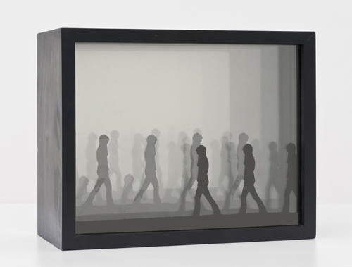 in Pictures for 'The Photographic Object, 1970' at Hauser & Wirth. Image for Michael Stone, Untitled, 1968, Kodalith film, Plexiglas, mirror, wood, 20.32 x 25.4 x 12.07 cm / 8 x 10 x 4 3/4 in © Michael Stone. Courtesy Cherry and Martin. Photo: Bryan Forrest.