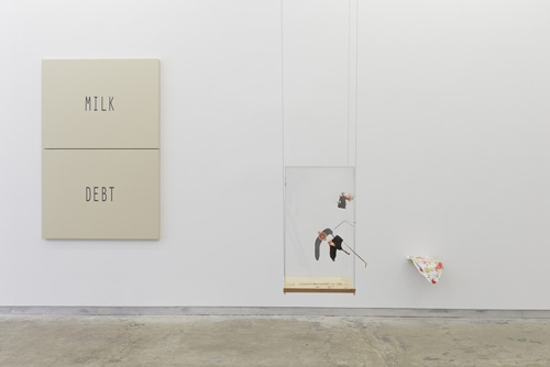 in Pictures for 'Changing Table' at Kate Werble Gallery. Image for Exhibition view, Changing Table, 2014, Kate Werble Gallery, New York, NY. Courtesy of the artists and Kate Werble Gallery, New York. Photo: Elisabeth Bernstein.