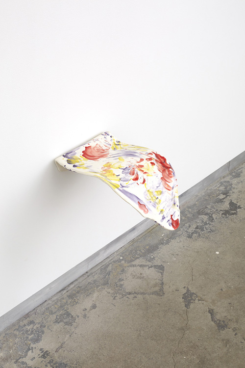 in Pictures for 'Changing Table' at Kate Werble Gallery. Image for Lee Maida, current mood, 2014, Glazed ceramic, 14 x 10 x 8 inches. Courtesy of the artist and Kate Werble Gallery, New York. Photo: Elisabeth Bernstein.