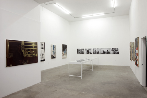 Month In Pictures 'U:L:O: Part II' at INTERSTATE. Image for Installation view of 'INSIDE OUT' curated by Ben Gocker at INTERSTATE, 2014, with work by Jamel Shabazz and Armand Schaubroeck. Courtesy of INTERSTATE, New York.