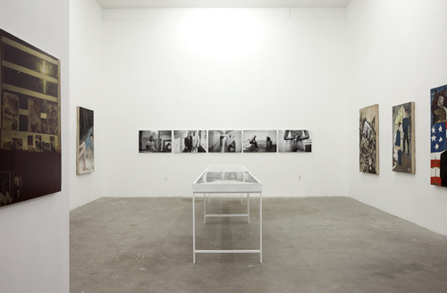 in Pictures for 'U:L:O: Part II' at INTERSTATE. Image for Installation view of 'INSIDE OUT' curated by Ben Gocker at INTERSTATE, 2014, with work by Jamel Shabazz and Armand Schaubroeck. Courtesy of INTERSTATE, New York.