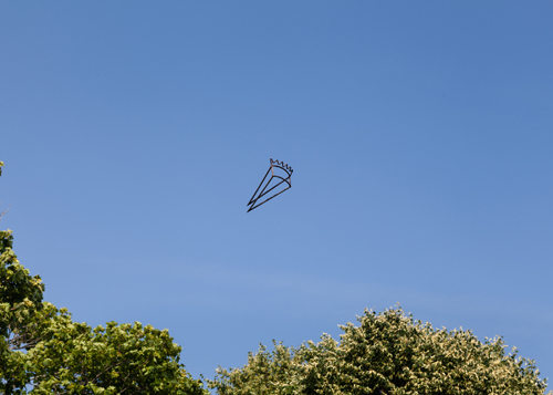 in Pictures for 'Another, Once Again, Many Times More' at Martos Gallery. Image for Greely Myatt, Pie in the Sky, 2008-2014, steel, 4 x 14 x 7 inches. Courtesy of the artist and David Lusk Gallery. Photo by Charles Benton.