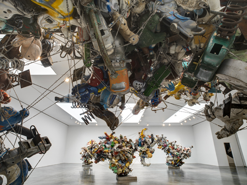 in Pictures for Nancy Rubins at Gagosian Gallery. Image for Installation view of Nancy Rubins: Our Friend Fluid Metal at Gagosian Gallery, July 17 - September 13, 2014. © Nancy Rubins. Courtesy of the artist and Gagosian Gallery. Photography by Erich Koyama.